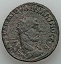 Ancients:Roman Provincial , Ancients: COMMAGENE. Samosata. Philip II (AD 247-249). AE 32 mm(18.56 gm)....
