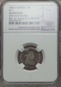 Early Dimes, 1805 10C 4 Berries, JR-2, R.2, -- Obv Scratched -- NGC Details. AG.Ex: Rev. Dr. James G. K. McClure. NGC Census: (0/23...