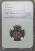 Early Dimes, 1802 10C JR-4, R.4, -- Damaged -- NGC Details. AG. Ex: Rev. Dr. James G. K. McClure. PCGS Population...