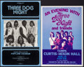 """Movie Posters:Rock and Roll, Three Dog Night Poster Lot (Various, 1970s). Concert Window Cards(2) (14"""" X 20"""" & 13.5"""" X 21.25""""). Rock and Roll.. ... (Total: 2Items)"""