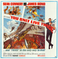 "Movie Posters:James Bond, You Only Live Twice (United Artists, 1967). Six Sheet (80"" X 81"").. ..."