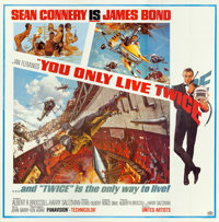"You Only Live Twice (United Artists, 1967). Six Sheet (80"" X 81"")"