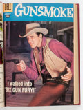 Silver Age (1956-1969):Western, Gunsmoke #6-17 Bound Volume (Dell, 1958-59)....