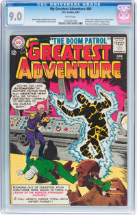My Greatest Adventure #80 (DC, 1963) CGC VF/NM 9.0 White pages