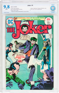 The Joker #1 (DC, 1975) CBCS NM/MT 9.8 White pages
