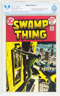 Bronze Age (1970-1979):Horror, Swamp Thing #7 (DC, 1973) CBCS NM/MT 9.8 White pages....