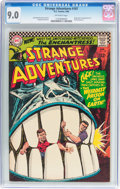 Silver Age (1956-1969):Science Fiction, Strange Adventures #187 (DC, 1966) CGC VF/NM 9.0 Off-white pages....