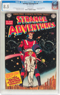 Golden Age (1938-1955):Science Fiction, Strange Adventures #9 (DC, 1951) CGC VF+ 8.5 Off-white pages....