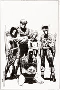Original Comic Art:Covers, Jim Cheung and John Dell Young Avengers #6 Cover OriginalArt (Marvel, 2005)....