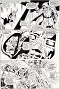 Original Comic Art:Panel Pages, Dick Ayers and John Severin Incredible Hulk #143 Doctor Doom Page 26 Original Art (Marvel, 1971)....