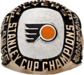 Hockey Collectibles:Others, 1974-75 Bobby Clarke Stanley Cup Championship Salesman's Sample Ring. ...