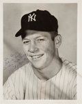 Baseball Collectibles:Photos, 1950-73 New York Yankees Signed Photographs Lot of 49 with MultipleMantles from The Gene Woodling Collection. ...