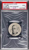 Baseball Cards:Singles (Pre-1930), 1909-11 E254 Colgan's Chips Ty Cobb PSA Mint 9 - The Highest GradedExample on Record! ...