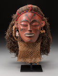 Tribal Art, CHOKWE, Angola. Pwo Female Mask...