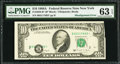 Error Notes:Shifted Third Printing, Fr. 2028-B* $10 1988A Federal Reserve Note. PMG Choice Uncirculated 63 EPQ.. ...