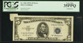 Error Notes:Attached Tabs, Fr. 1656 $5 1953A Silver Certificate. PCGS Very Fine 35PPQ.. ...