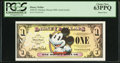 Miscellaneous:Other, Disney Dollar 2008 $1 Mickey Mouse 80th Anniversary PCGS Choice New63PPQ.. ...