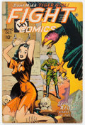 Golden Age (1938-1955):War, Fight Comics #40 (Fiction House, 1945) Condition: VG-....
