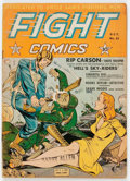 Golden Age (1938-1955):War, Fight Comics #21 (Fiction House, 1942) Condition: VG-....