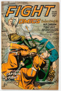 Golden Age (1938-1955):War, Fight Comics #44 (Fiction House, 1946) Condition: VG/FN....