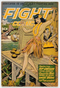 Golden Age (1938-1955):War, Fight Comics #35 (Fiction House, 1944) Condition: FN....