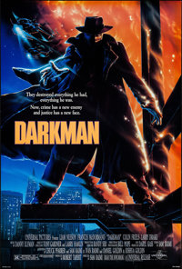 """Darkman (Universal, 1990). One Sheets (2) (27"""" X 41"""") DS Advance & Regular Style. Action. ... (Total:..."""