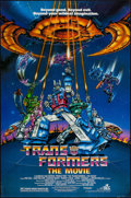 """Movie Posters:Animation, Transformers: The Movie & Other Lot (DEG, 1986). One Sheets (2)(27"""" X 41""""). Animation.. ... (Total: 2 Items)"""