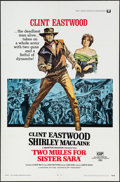 """Movie Posters:Western, Two Mules for Sister Sara (Universal, 1970). One Sheet (27"""" X 41""""). Western.. ..."""