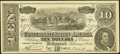 Confederate Notes:1864 Issues, Facsimile T68 $10 1864 Dr. Seth Arnold's Cough Killer Ad Note.. ...