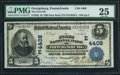 National Bank Notes:Pennsylvania, Orwigsburg, PA - $5 1902 Date Back Fr. 593 The First NB Ch. #(E)4408. ...