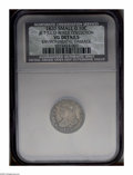 Bust Dimes: , 1820 10C JR-7 Small 0 --Environmental Damage--NCS. VG Details....