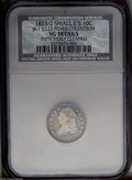 Bust Dimes: , 1823/2 10C JR-1 Small Es --Improperly Cleaned--NCS. VG Details....