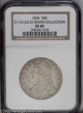 Bust Half Dollars: , 1836 50C Lettered Edge XF45 NGC.O-122 ...