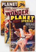 Pulps:Science Fiction, Assorted Science Fiction Pulps Group of 15 (Various, 1938-53)Condition: Average GD+.... (Total: 15 Comic Books)
