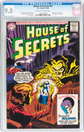 Silver Age (1956-1969):Horror, House of Secrets #61 (DC, 1963) CGC VF/NM 9.0 Cream to off-whitepages....