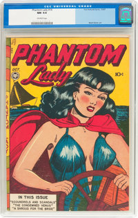 Phantom Lady #14 (Fox Features Syndicate, 1947) CGC NM 9.4 Off-white pages