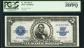 Large Size:Silver Certificates, Fr. 282 $5 1923 Silver Certificate PCGS Choice About New 58PPQ.. ...