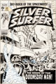John Buscema and Dan Adkins Silver Surfer #13 Cover Original Art (Marvel, 1970)