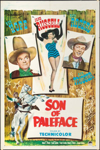 """Son of Paleface (Paramount, 1952). One Sheet (27"""" X 41"""") & Lobby Cards (2) (11"""" X 14""""). Comedy..."""
