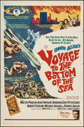 "Movie Posters:Adventure, Voyage to the Bottom of the Sea (20th Century Fox, 1961). One Sheet(27"" X 41""), Lobby Cards (7), Mounted Color Photo (11"" X... (Total:10 Items)"