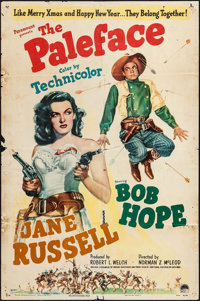 """The Paleface (Paramount, 1948). One Sheet (27"""" X 41""""), Lobby Cards (6) (11"""" X 14""""), & Sheet Musi..."""