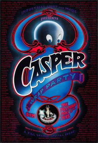 "Casper (Universal, 1995). Wrap Party Poster (13"" X 19"") & One Sheet (27"" X 40"") SS. Comedy..."