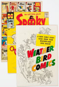 Silver Age (1956-1969):Humor, Spooky Long Box File Copy Group (Harvey, 1960s-70s) Condition: Average VF/NM....
