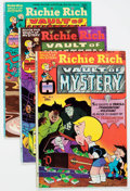 Bronze Age (1970-1979):Cartoon Character, Richie Rich Vault of Mystery File Copy Short Box Group (Harvey,1970s-80s) Condition: Average NM-....