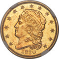Early Quarter Eagles, 1830 $2 1/2 BD-1, R.4, MS62 NGC. CAC....
