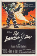 "Movie Posters:Science Fiction, The Invisible Boy (MGM, 1957). One Sheet (27"" X 41""). Science Fiction.. ..."