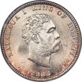 Coins of Hawaii , 1883 25C Hawaii Quarter MS67 PCGS. CAC....
