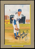 Baseball Collectibles:Photos, Sandy Koufax Signed Perez Steele Card. ...
