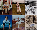 Baseball Collectibles:Photos, Braves Greats Signed Photographs Lot of 12....