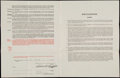 Baseball Collectibles:Others, 1943 Gene Moore Washington Senators Player's Contract Signed byClark Griffith. ...